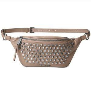 18c1fd530ea9 Michael Kors. Michael Kors Rhea Studded Belt Bag Fanny Pack